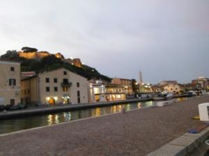 Castiglione della Pescaia at night