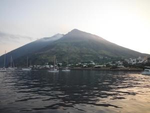 Anchorage at Stromboli