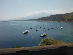 Taormina anchorage