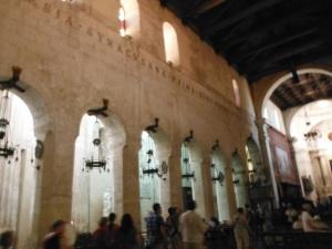 Inside the Duomo,  Siracusa