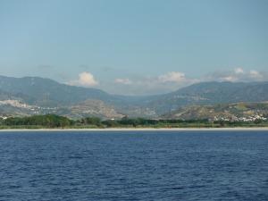 Surprisingly green coast, Calabria