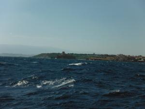 A wild sea, south Calabria