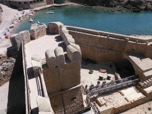 From the castle, Le Castella