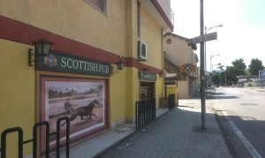 Scottish pub, Salerno