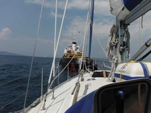 A wild ride to Gouvia marina