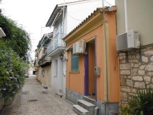 Corrugated iron houses, Levkas
