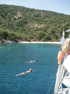 Snorkeling, Ithaka