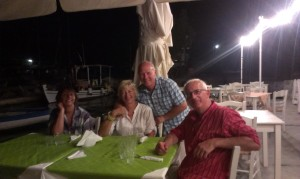 Dinner in Vathi